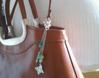 Jewelry bag, butterfly and Horn of Unicorn