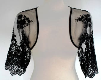 Black Lace Bolero/ Only piece
