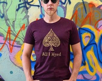 Ace Of Spades T Shirt Men