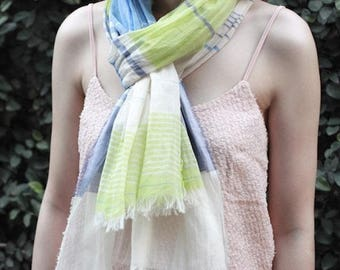 Premium Cotton 100% Scarf (4 Colors)