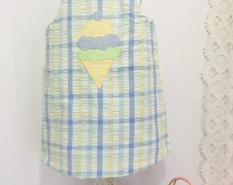 "Vintage ""The Bailey Boys"" Spring Reversible  Easter Dress"