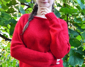 "Sweater ""Red poppy"""
