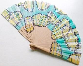Unique hand fan design 5