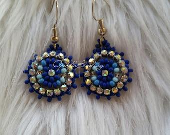 Beaded Lil Cuties - Native American beaded earrings