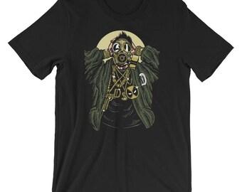 Gasmask Gangsta Short-Sleeve Unisex T-Shirt