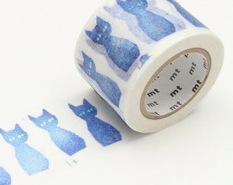 mt x Minä Perhonen - ao-neko < MTMINA37 > - Washi Tape  | masking tape | planner accessories | japanese stationery