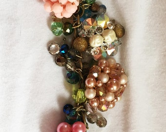 Vintage Bauble Earrings Bracelat