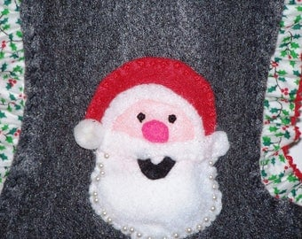 Santas Christmas stocking