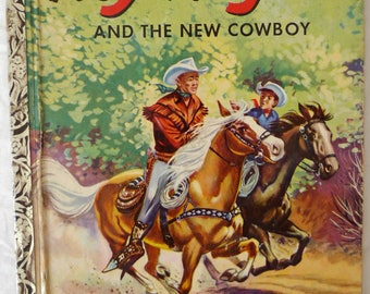 ROY ROGERS and the New COWBOY 1953 A.N Bedford H/C First Little Golden Book