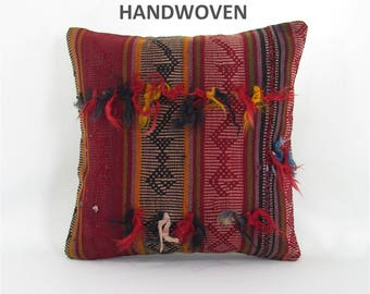throw pillow antique kilim pillow boho rug pillow throw pillow cover decorative pillow home decor pillows 001122