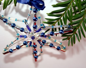 Christmas Tree Ornaments-star decor for Christmas tree-decorations for Christmas parties-Christmas decor-home mom Gift