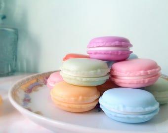 Macarons - Scatoline colorate a forma di Macaron