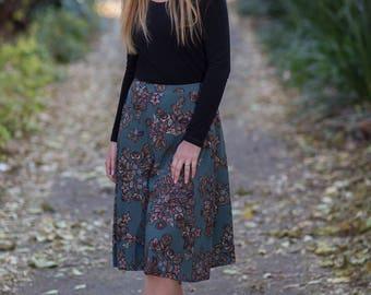 SALE! Simone midi skirt