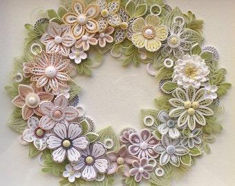 Wreath of Pastel Colors 2