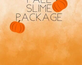 fall slime package