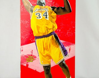 "Starting Lineup NBA 1997 Shaquille O'Neal Shaq L.A. Lakers 12"" Action Figure"