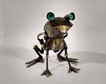 Stempunk frog