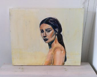 Girl II Oil Paint