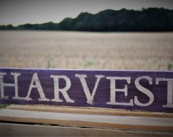 Harvest pallet sign   Etsy