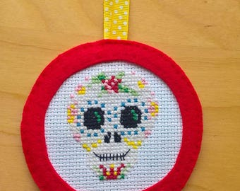 Day of the Dead Sugar Skull Decoration