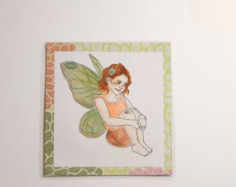 Fairy Girl Bookmark