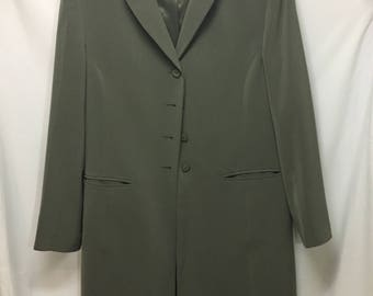 Olive Fall Trench Coat from Kasper