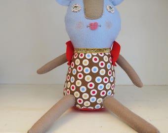 Roberto soft handmade doll