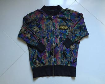 Vintage Star Wars jacket Padded Shoulders 1988 Vintage - size 61cmx74cm