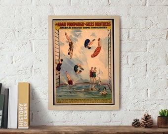 Wall art Poster, Wall art print, vintage poster