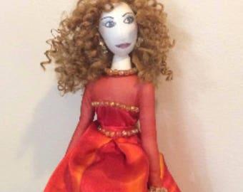 Lisa Marie : Custom Fashion Doll by Mio