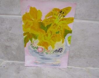 Still Life Vase of Flowers 4