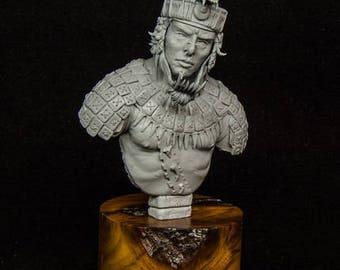 Mayan Warrior 1/9 collectible bust, Limited Edition