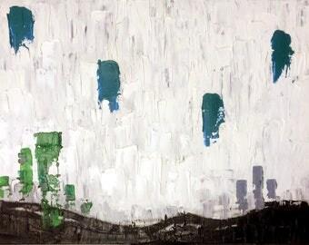 Binary, oil painting