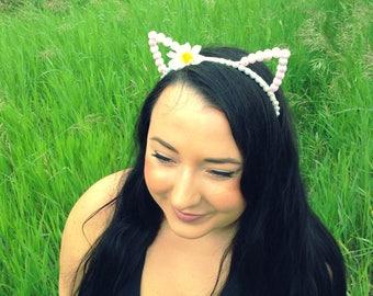Cat - Kitty - Ears - Festival - Headband