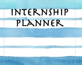 HARD COPY Provisional Psychologist Internship Planner