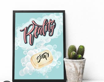 Reality SOAP poster