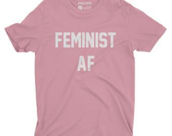 Feminist AF. Feminist. Feminist AF Shirt. Feminist Shirt. Feminism Shirt