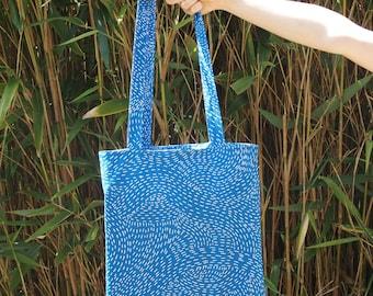 Handmade tote bag / inside pocket / Zero waste