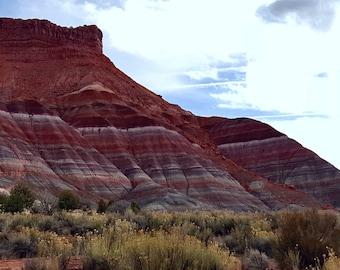 PARIA MOUNTAINS, Mountain Photography, Nature Photo, Landscape Photography, Wall Décor, Kanab Utah