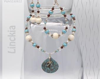 Jewelry Set | Necklace, Bracelet, Earrings | Linckia PG40230822