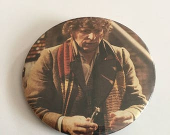 On Sale Vintage DR WHO 1984 Collectible Pinback Button - Style 2 - 2inches