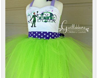 The Riddler Tutu Costume OOC Halloween Size 3 4 Ready to Ship!