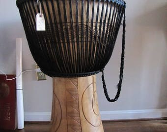 Amazing African djembe drum from    Ghana