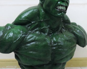 Incredible Hulk Life Size Bust Custom Made Statue Prop