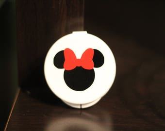Disney Minnie Mouse Ear bud set with case