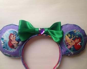 Ariel's Dream Minnie Mouse Ears