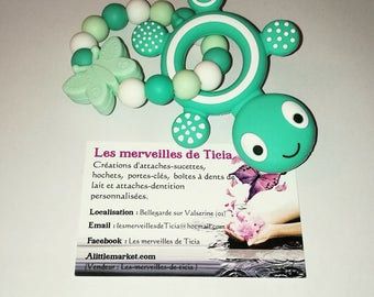 """""""Turtle"""" silicone teething ring"""