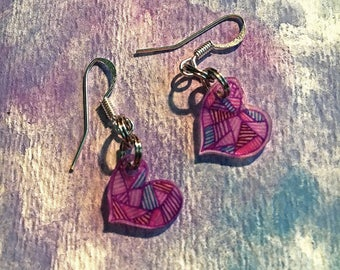 Fantasy Hearts Earrings