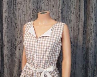 1 vintage dress... HAND MADE