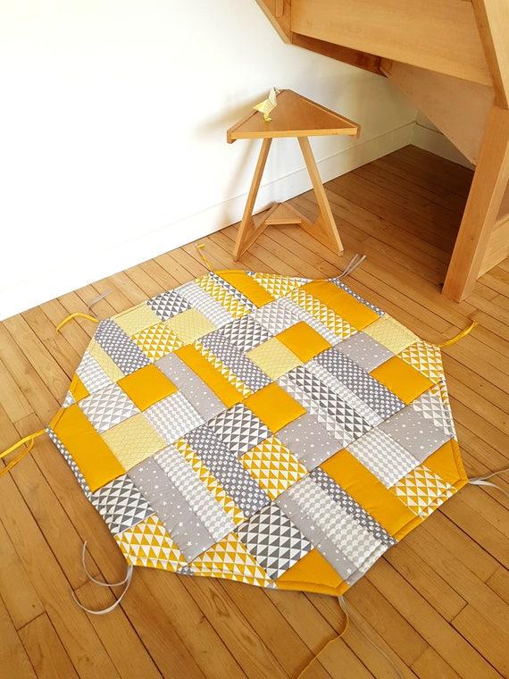 fond de parc octogonal pour parc b b tapis de jeu ou. Black Bedroom Furniture Sets. Home Design Ideas